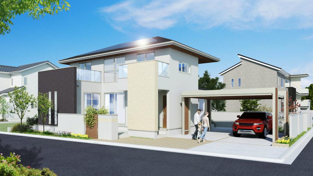リアルな住宅がイメージできる外観パース作成のコツ